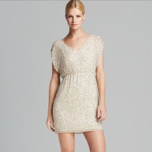 Alice and Olivia sequined dress. Size XS. NWT!